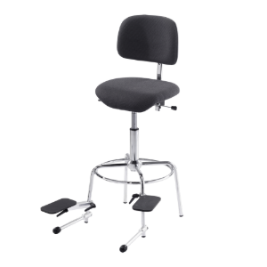 "double-bass chair, ""comfort line"" with two adjustable foot rests / 3090"